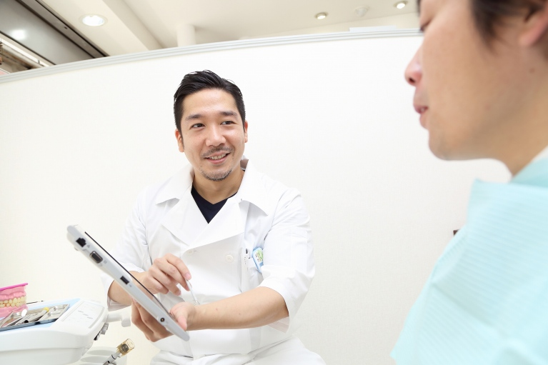 「自分の家族が患者様だったら…」が歯科医師としての軸です