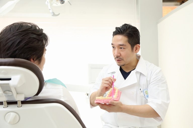 天然歯と同じように、治療後のケアが大切です